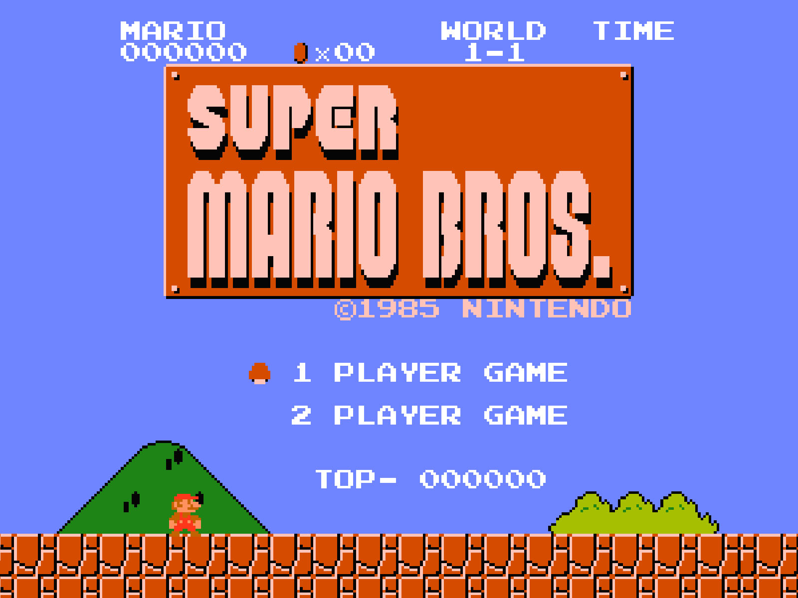 Super Mario Bros - Original Theme Song | InstrumentalFx