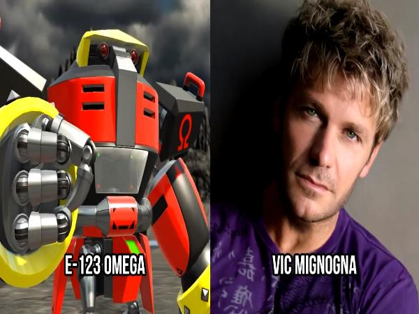E-123 Omega Voice by Vic Mignogna