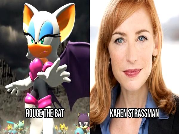 Rouge the Bat Voice by Karen Strassman