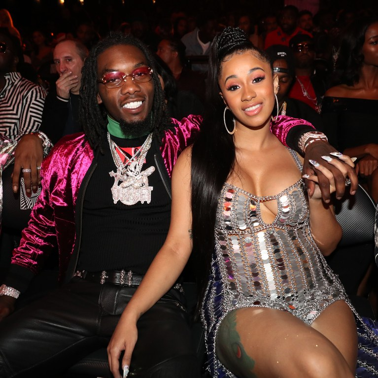 Cardi B Reveals Huge Offset Tattoo Of Husband S Name On: Offset & Cardi B - Um Yeah (Instrumental)